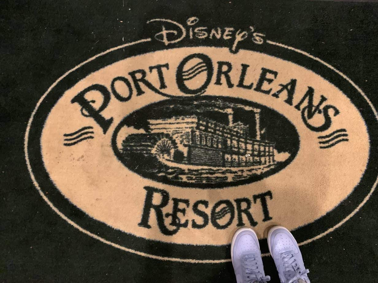 Port Orleans Riverside Resort Welcome Mat