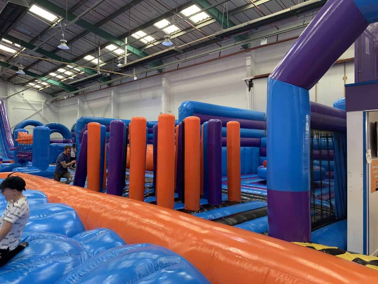 Inflata Bash at Inflata Nation Birmingham