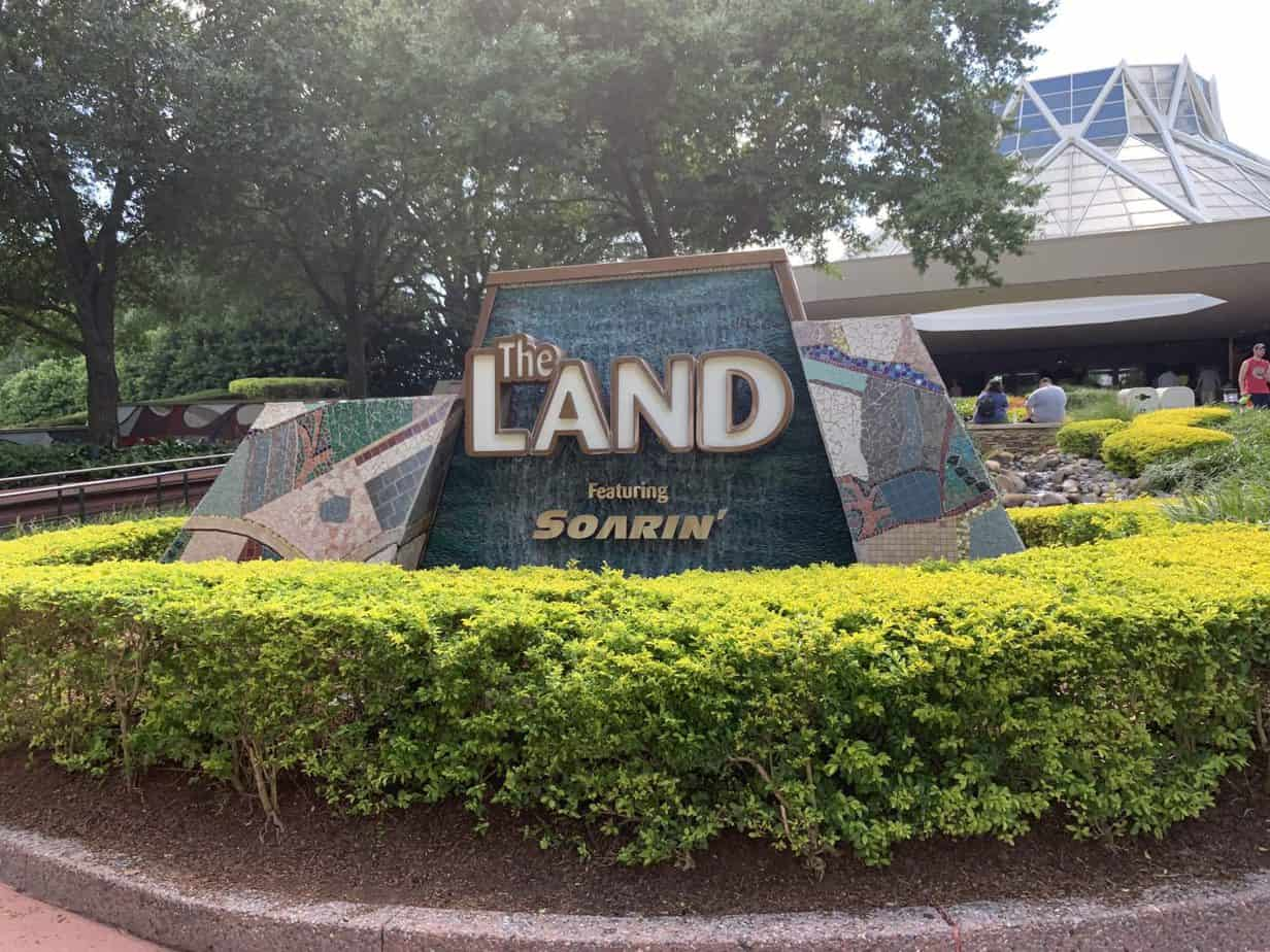 The Land Pavilion at Epcot
