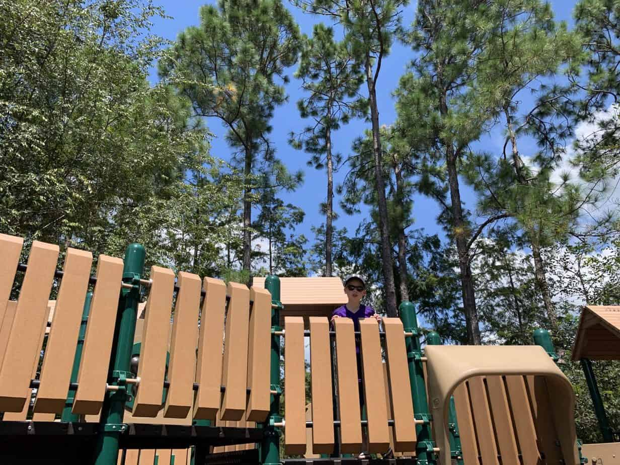 Play area at Port Orleans Riverside Resort