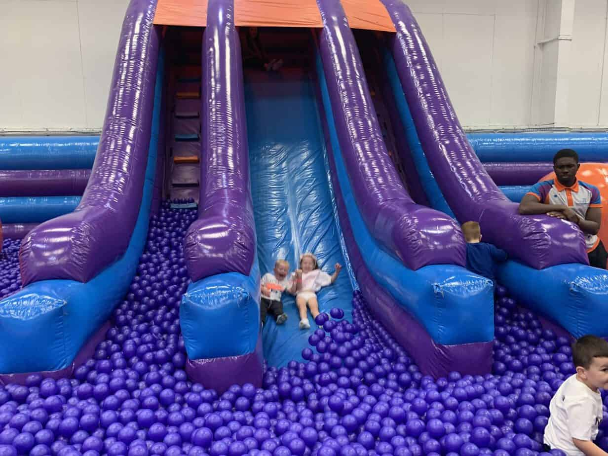 Inflata Drop at Inflata Nation Birmingham