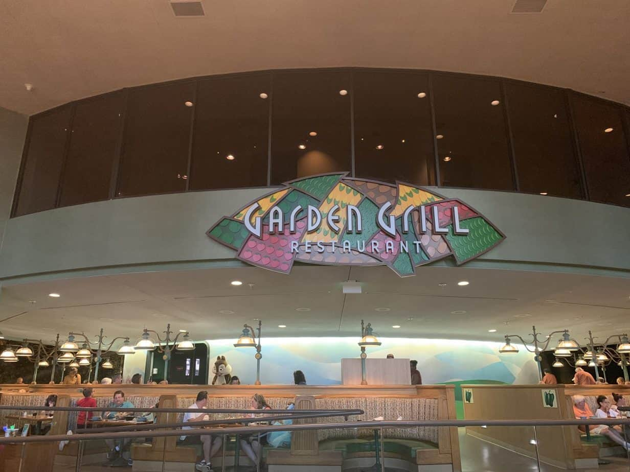 Garden Grill entrance at Land Pavilion in Epcot