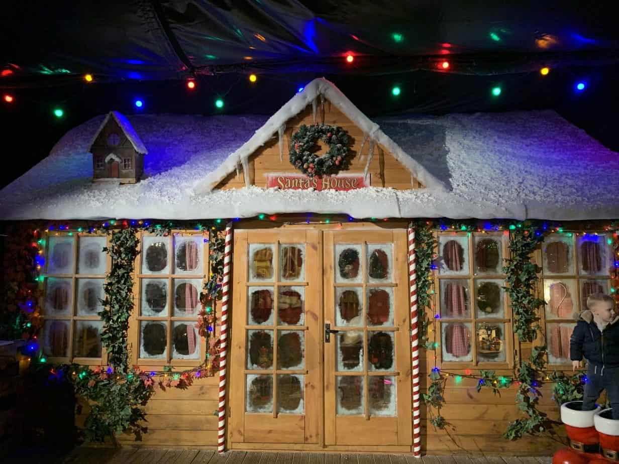 Santas Workshop at Santas Winter Wonderland SnowDome