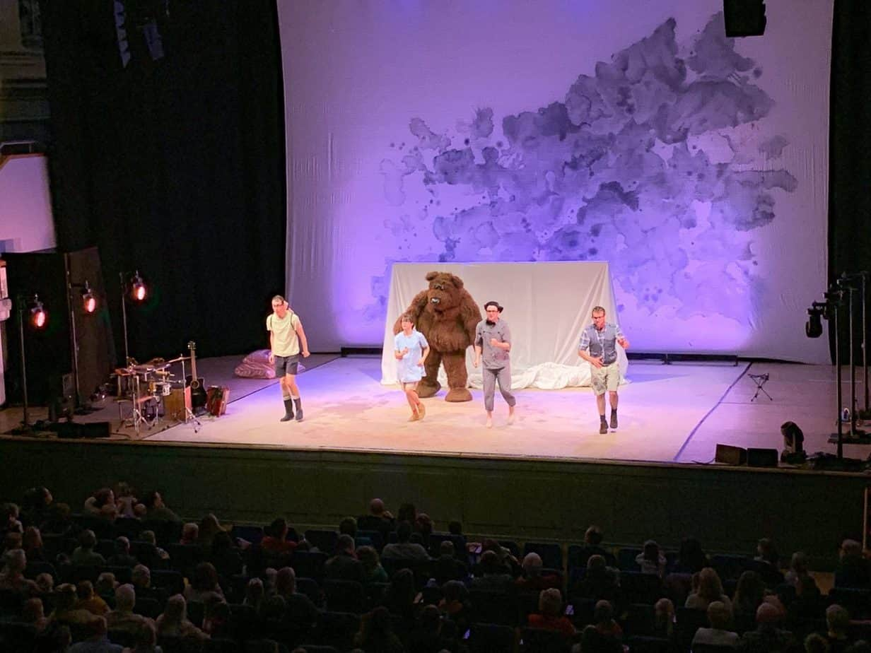 We're going on a bear hunt stage show review