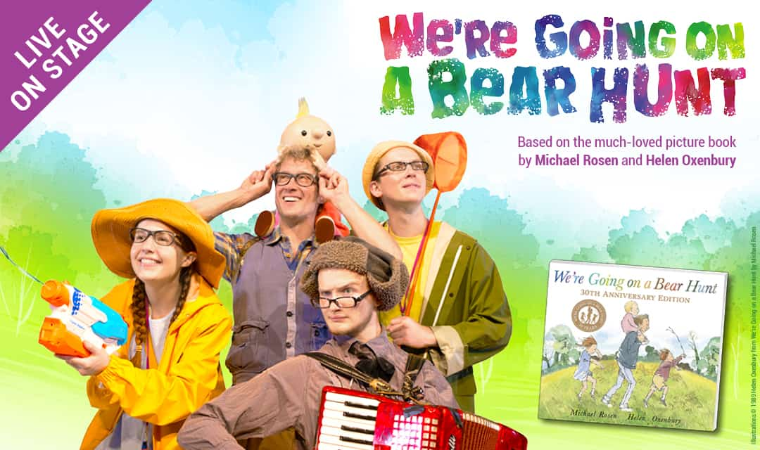 Were going on a bear hunt stage show production