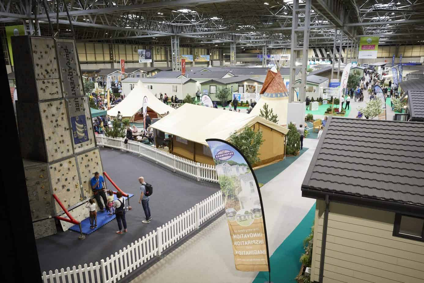 Caravan, Camping and Motorhome competition NEC Birmingham