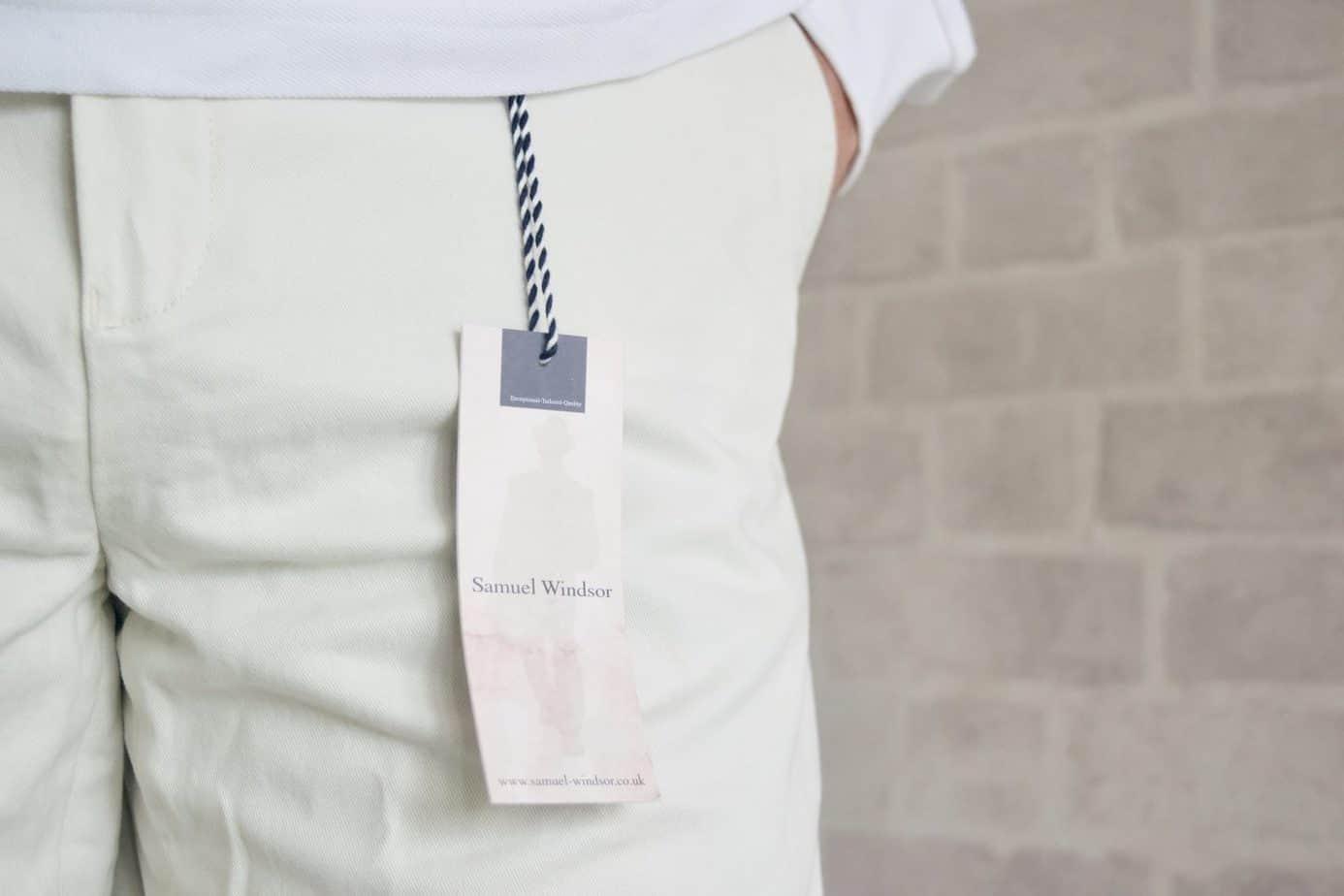 Stone casual chino shorts samuel windsor