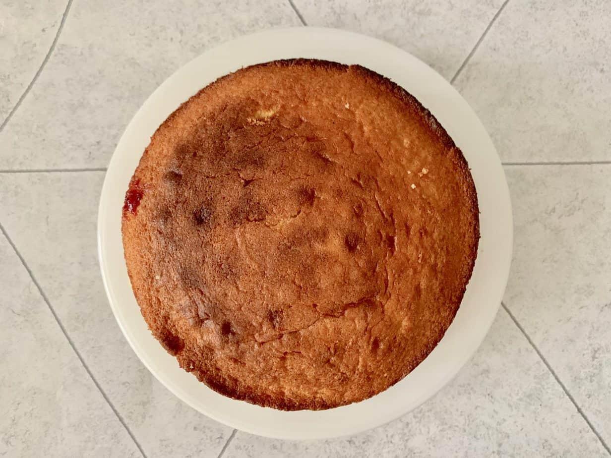 Baking a cake swizzels sweets
