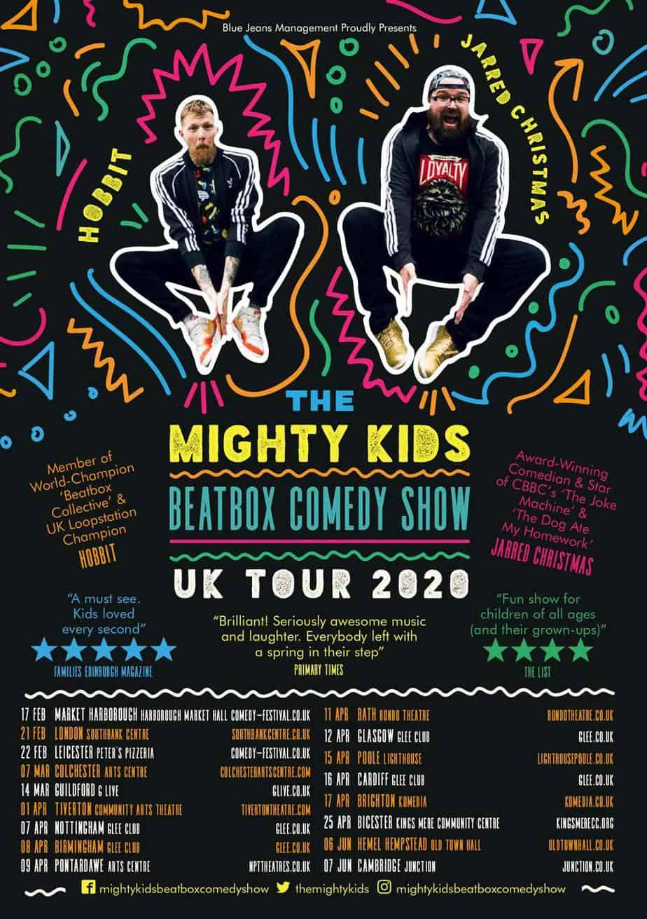 The mightly kids beatbox tour