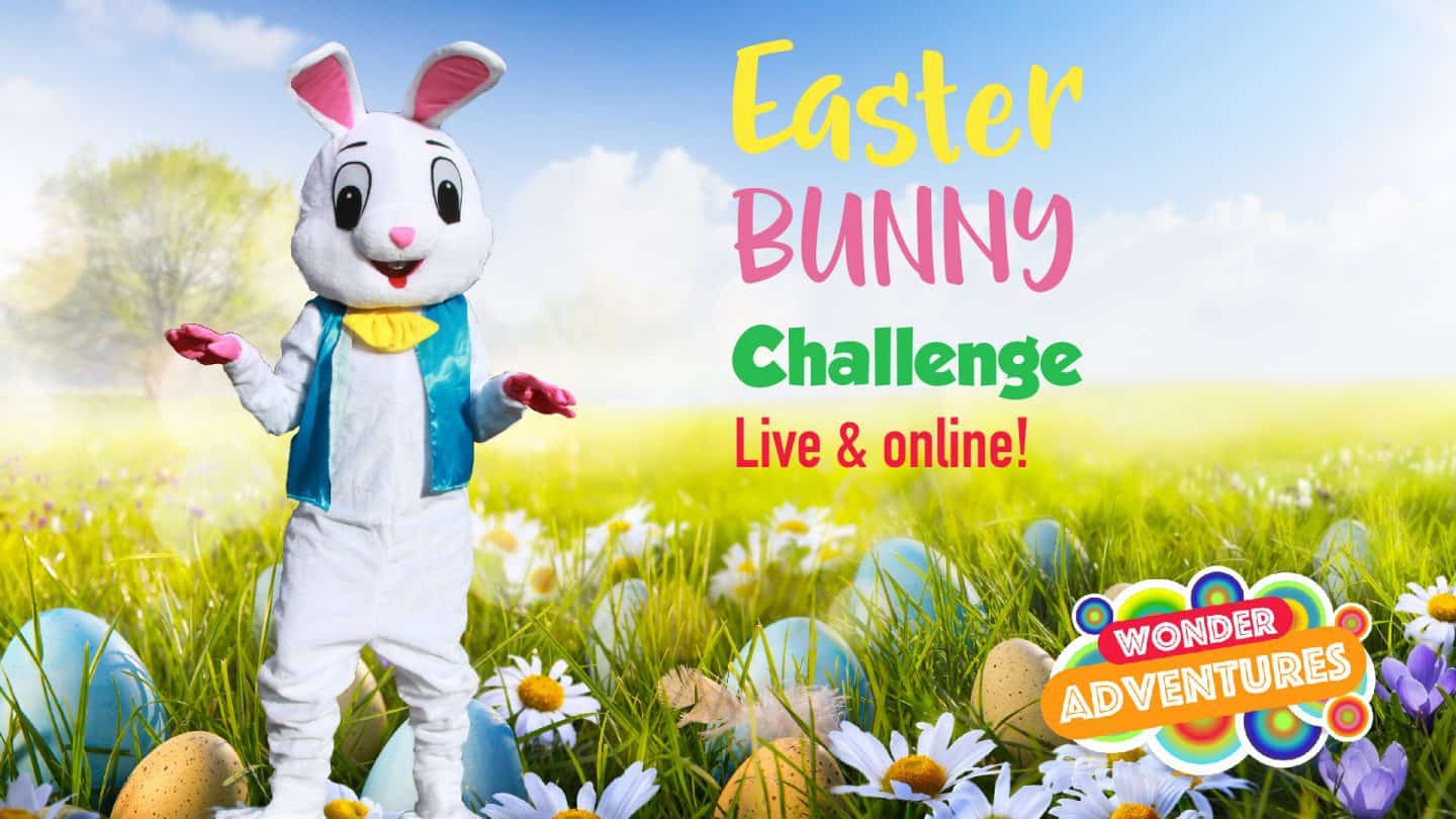 Easter Bunny Challenge Live and Online Virtual visit from Easter Bunny