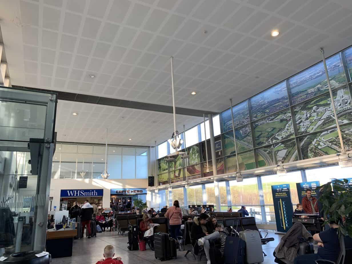 Ebbsfleet Eurostar Departure lounge