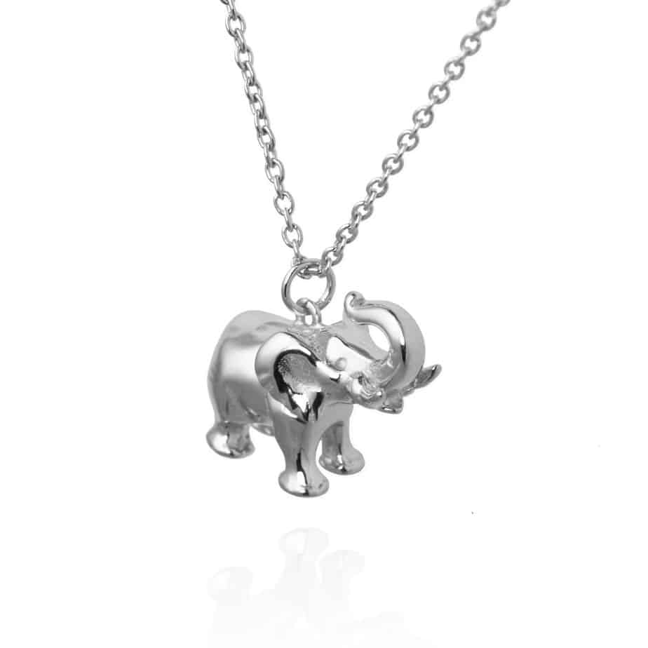 Silver Elephant Necklace Jana Reinhardt worth £95