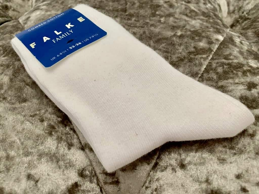 Childs white socks from Sockshop