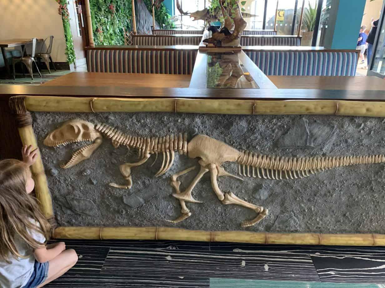 Jurassic Grill dinosaur restaurant UK