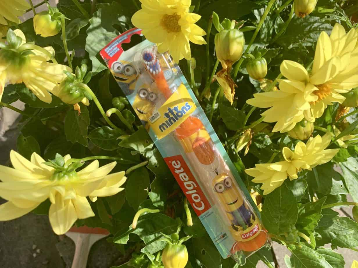 Minions colgate electric toothbrush waitrose