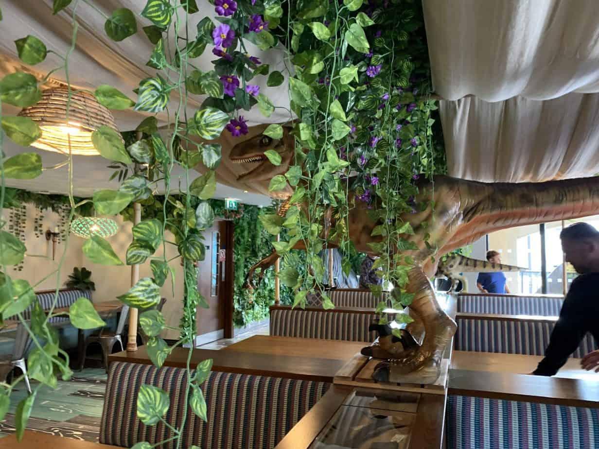 Dinosaur themed restaurant UK