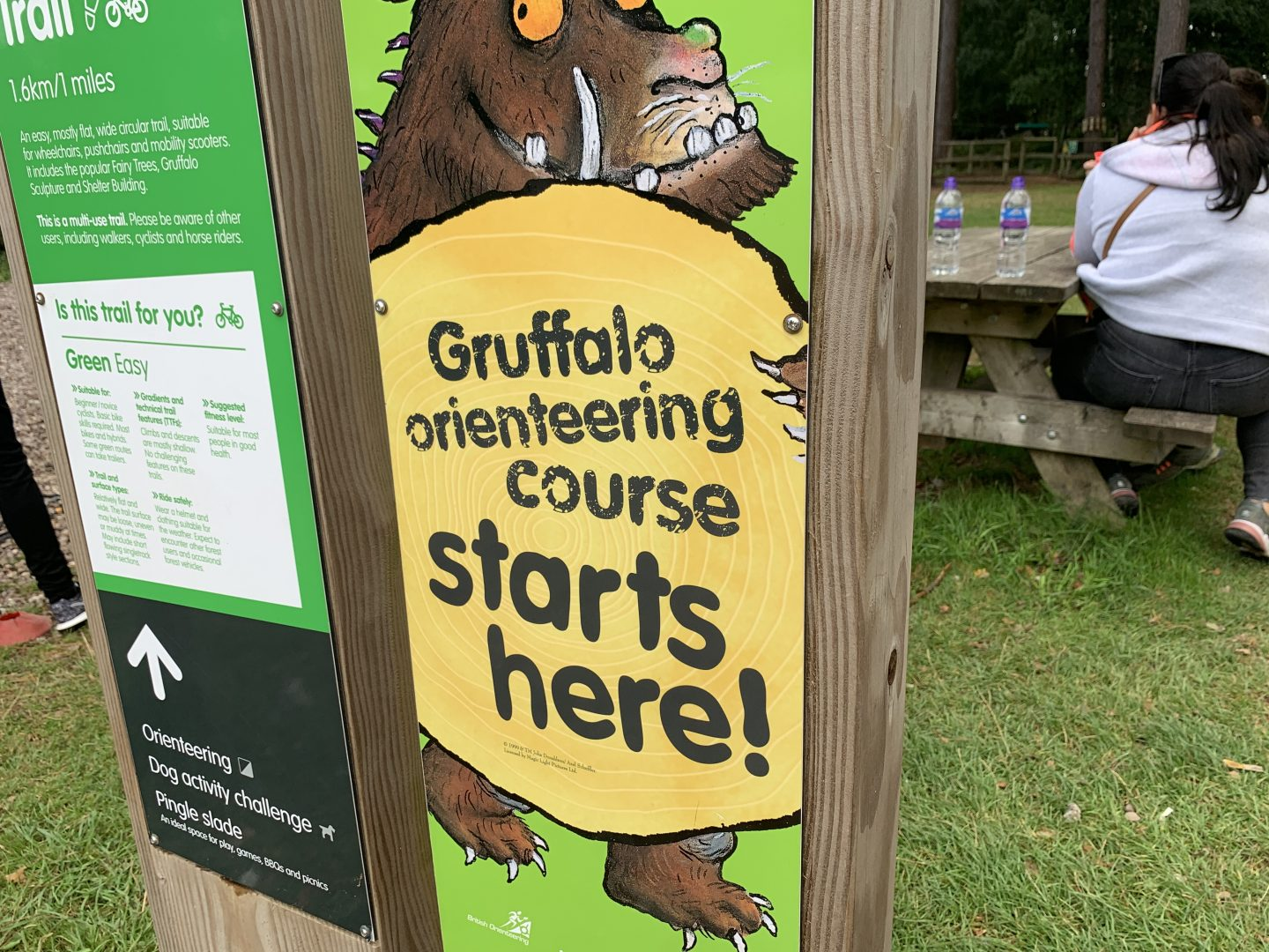 Gruffalo Trail Cannock Chase Sign Review