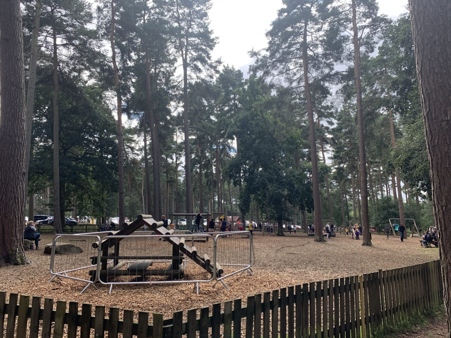 The play area at Cannock Chase