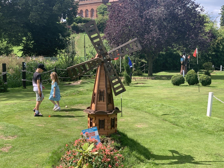 Windmill at Mini Golf Pro Course Kidderminster