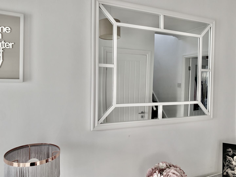 Large mirror to make your hallway seem bigger