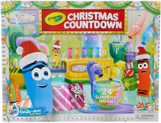 Crayola Advent Calendar for kids