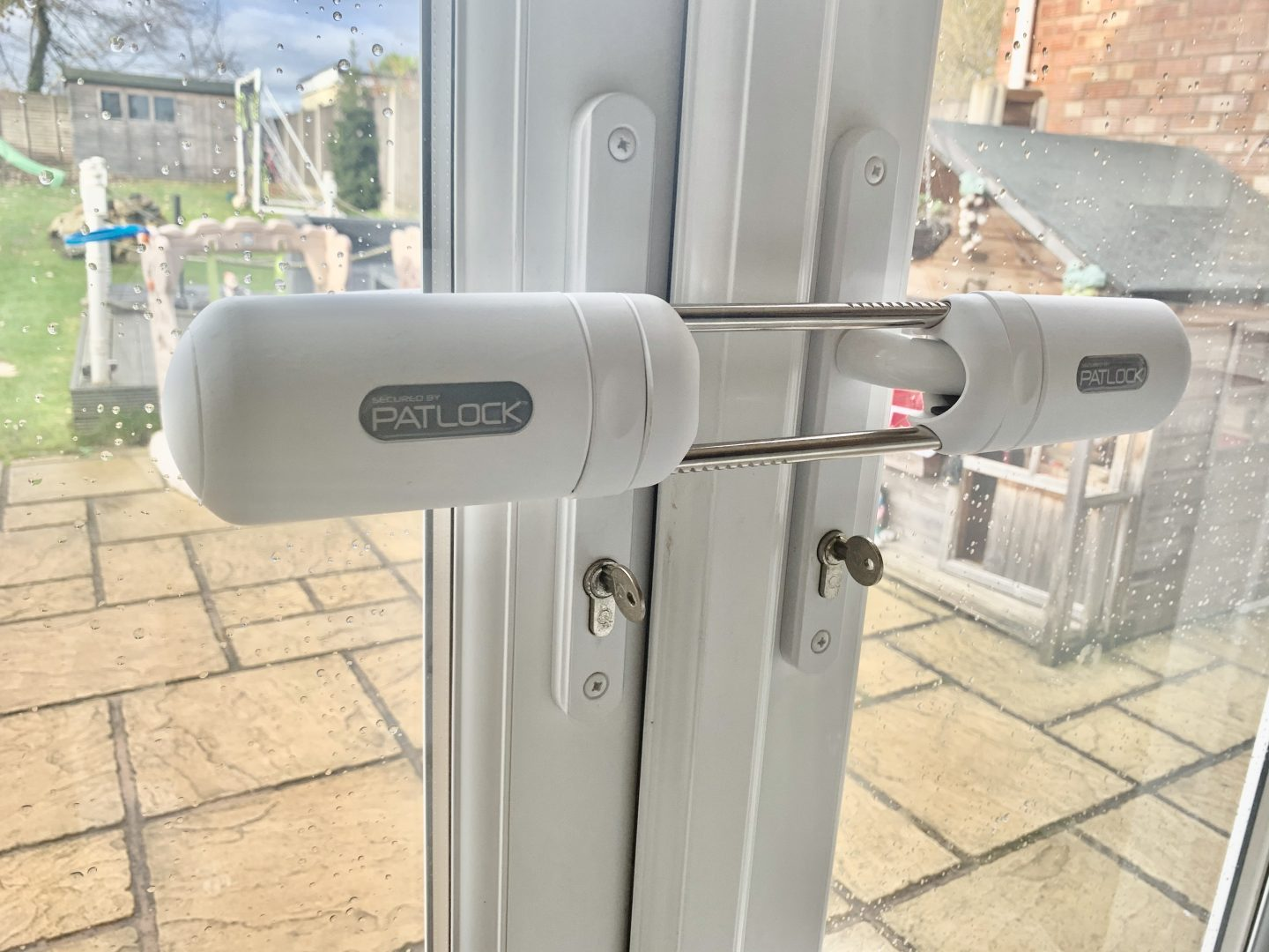 Patlock, security for french doors called patlock fitted