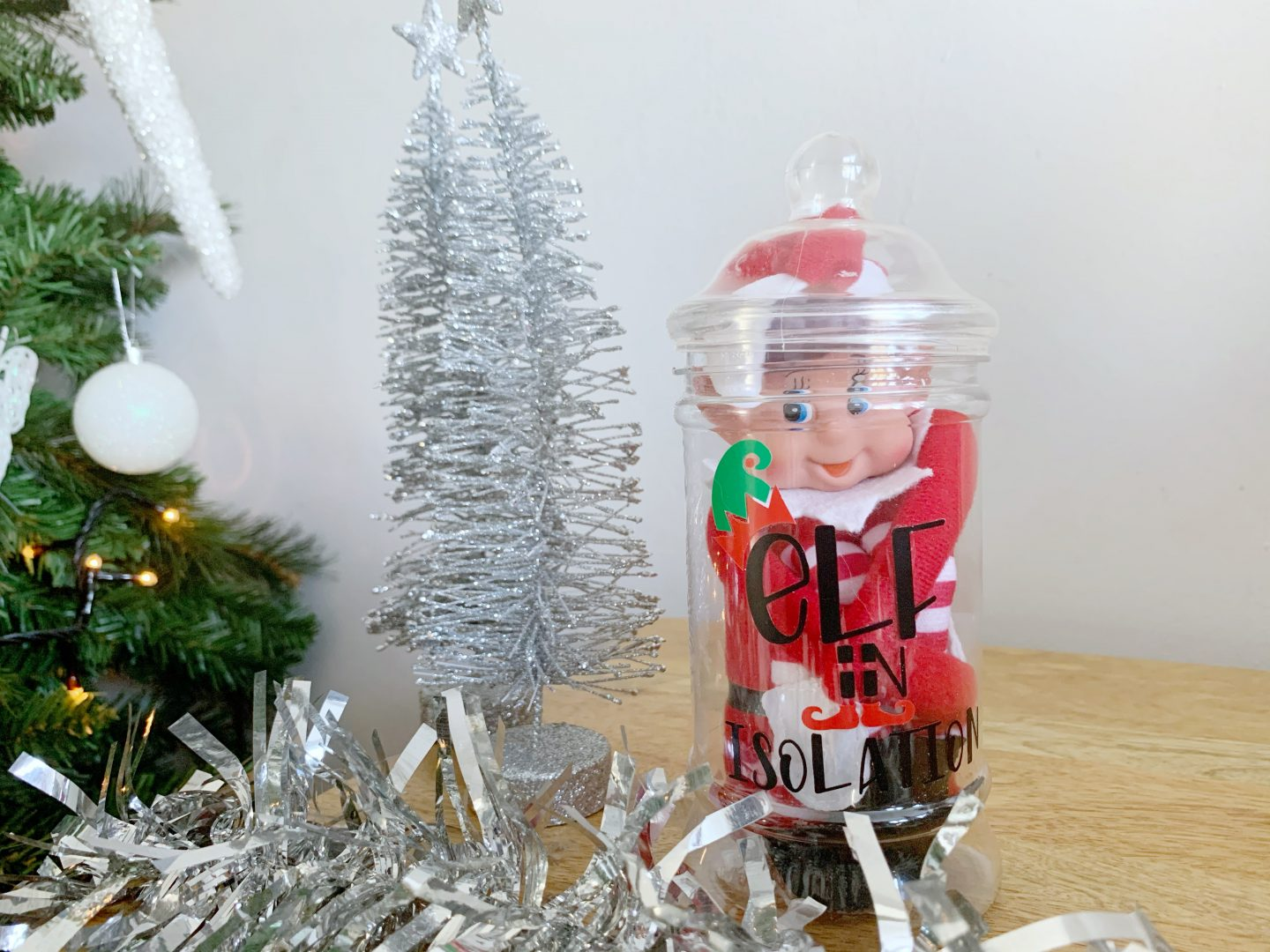 Elf on a shelf in self isolation with design bundles