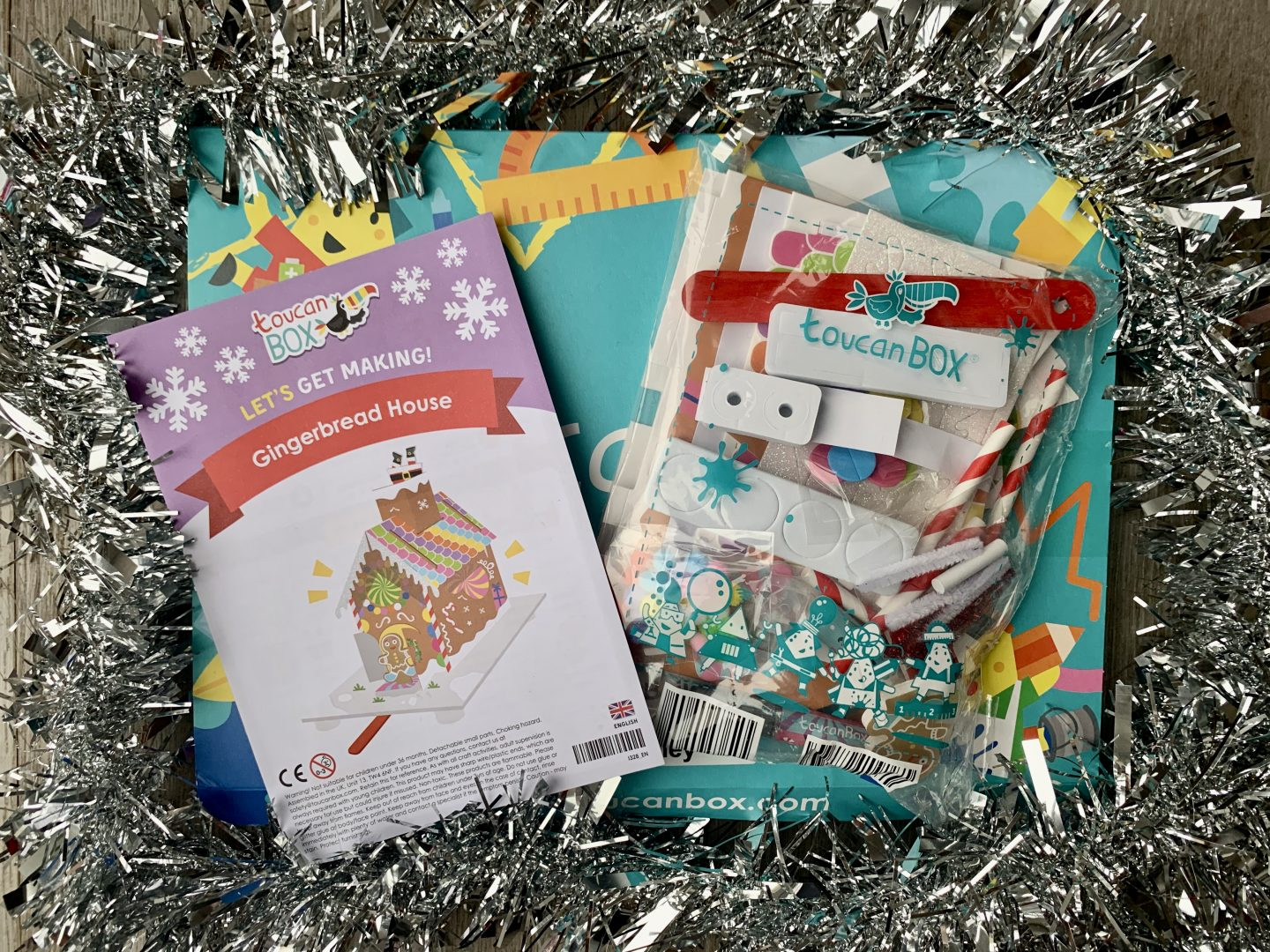 Gingerbread craft for kids toucanBox