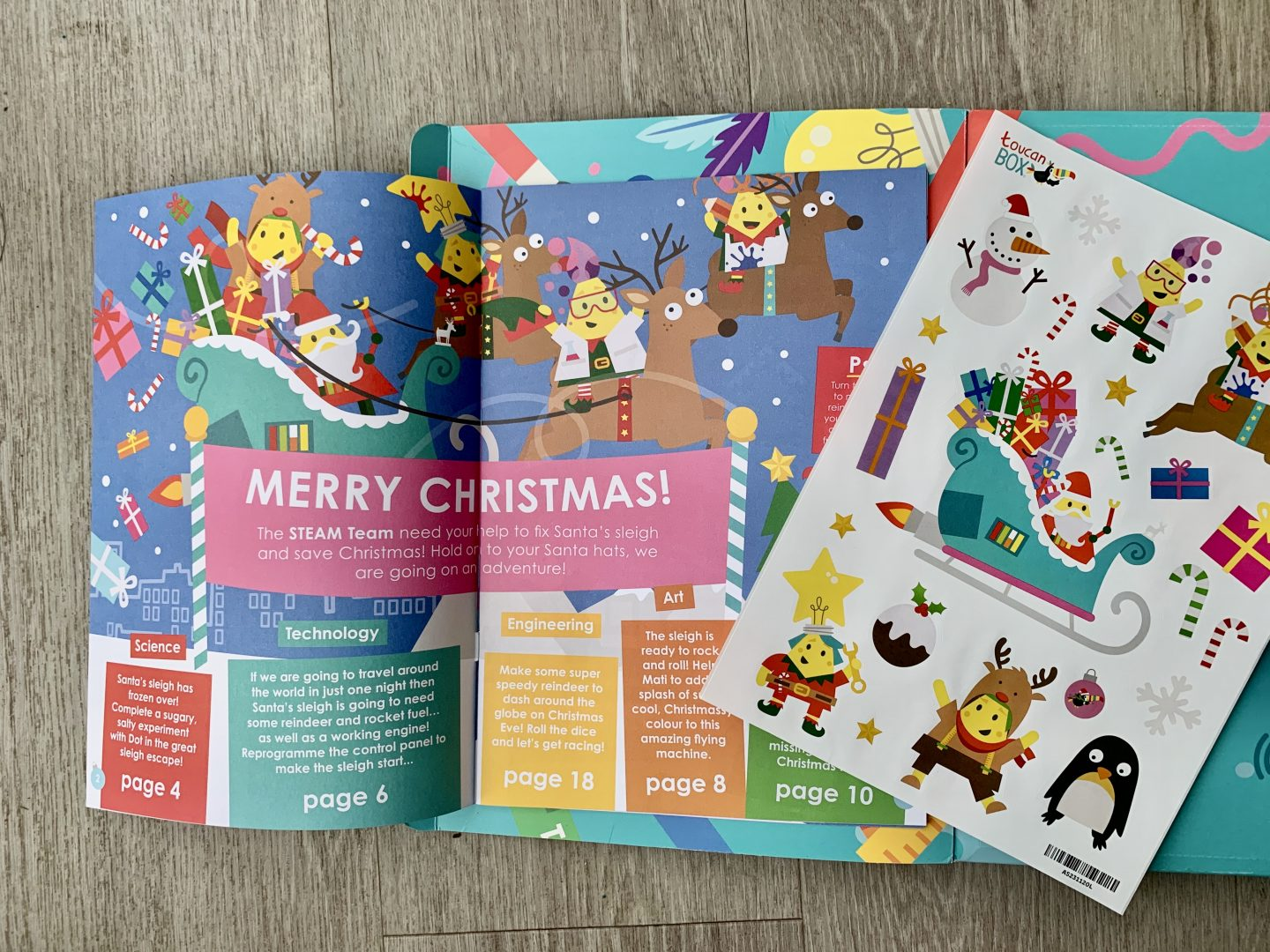 toucanBox and Magazine review