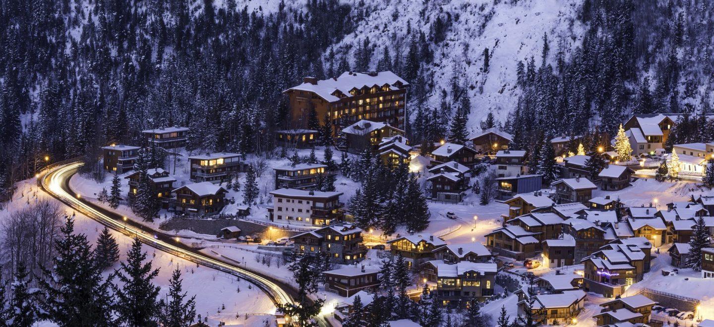 Courchevel France, a top place to visit in Europe to go skiing