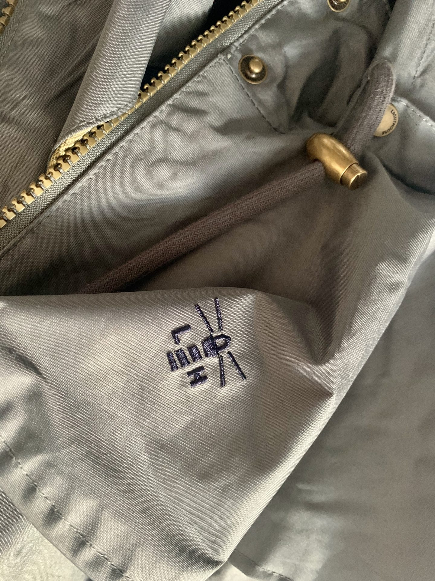 Outrider waterproof raincoat in grey review