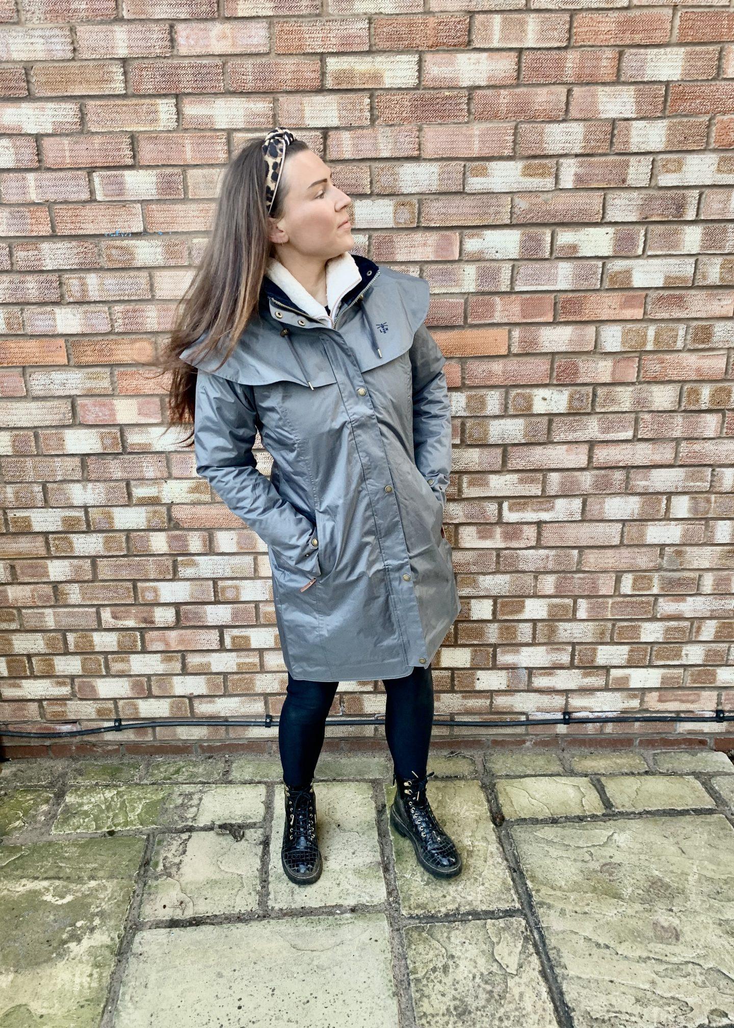 Lighthouse clothing review grey raincoat