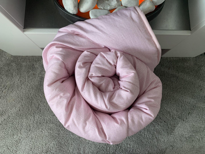 dusty pink single duvet coverless duvet the fine bedding company