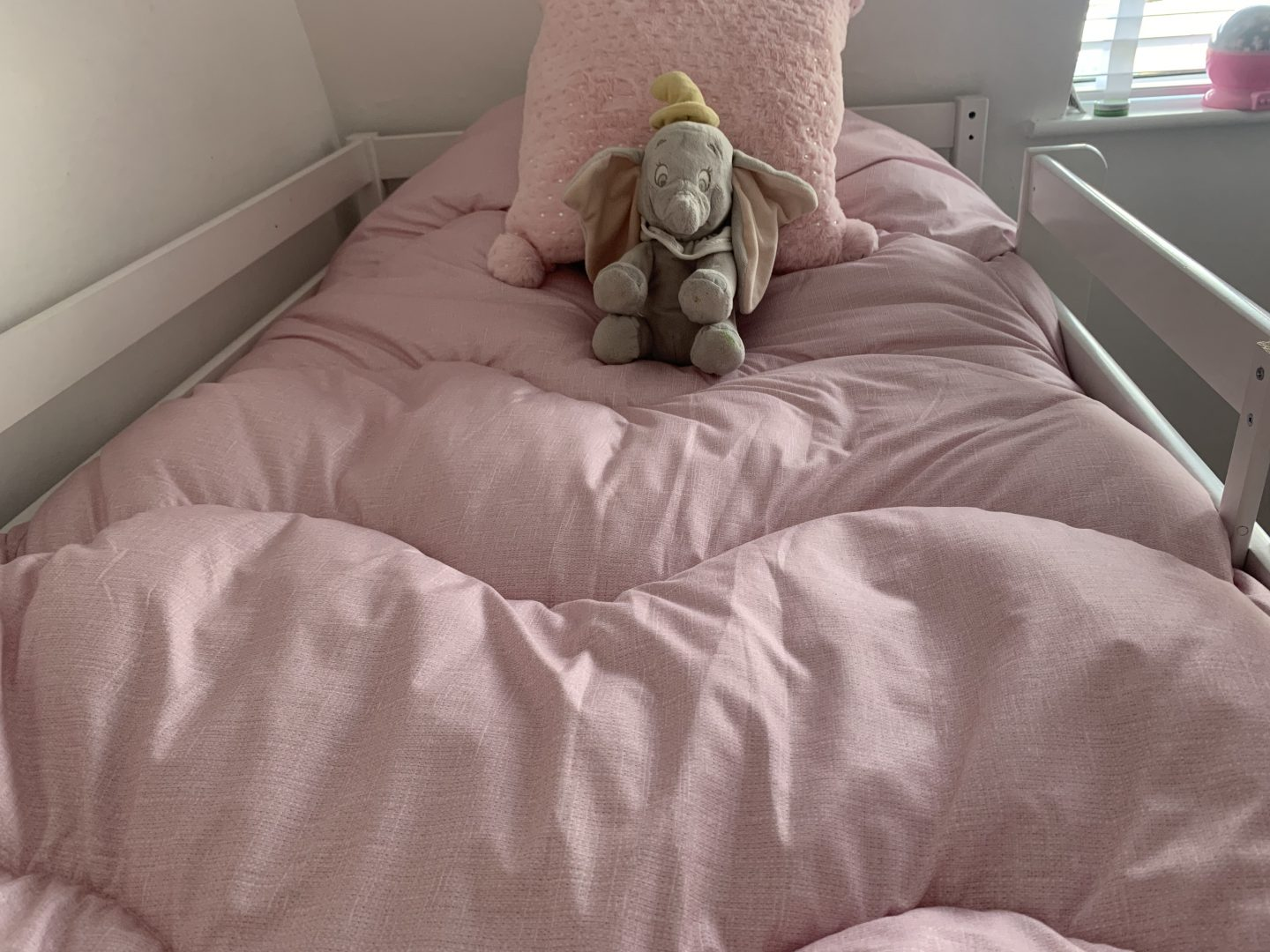 pink single coverless duvet the fine bedding company