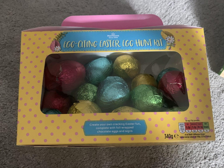 Cheap Easter Egg hunt kit