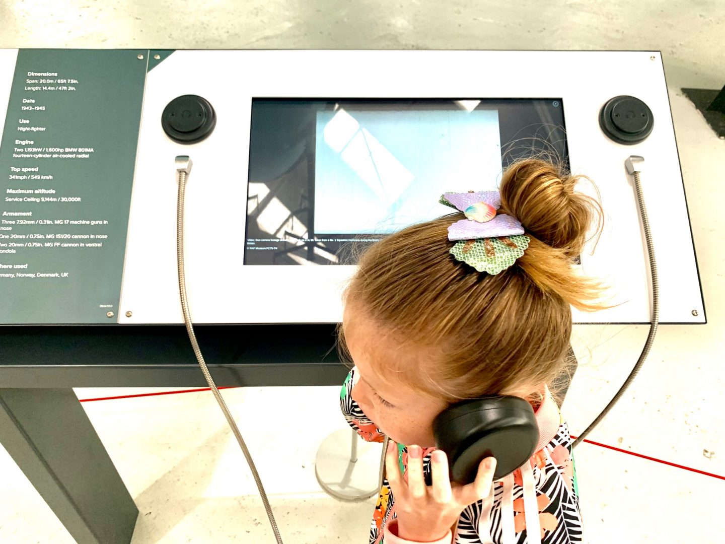 Interactive activities at cosford air museum
