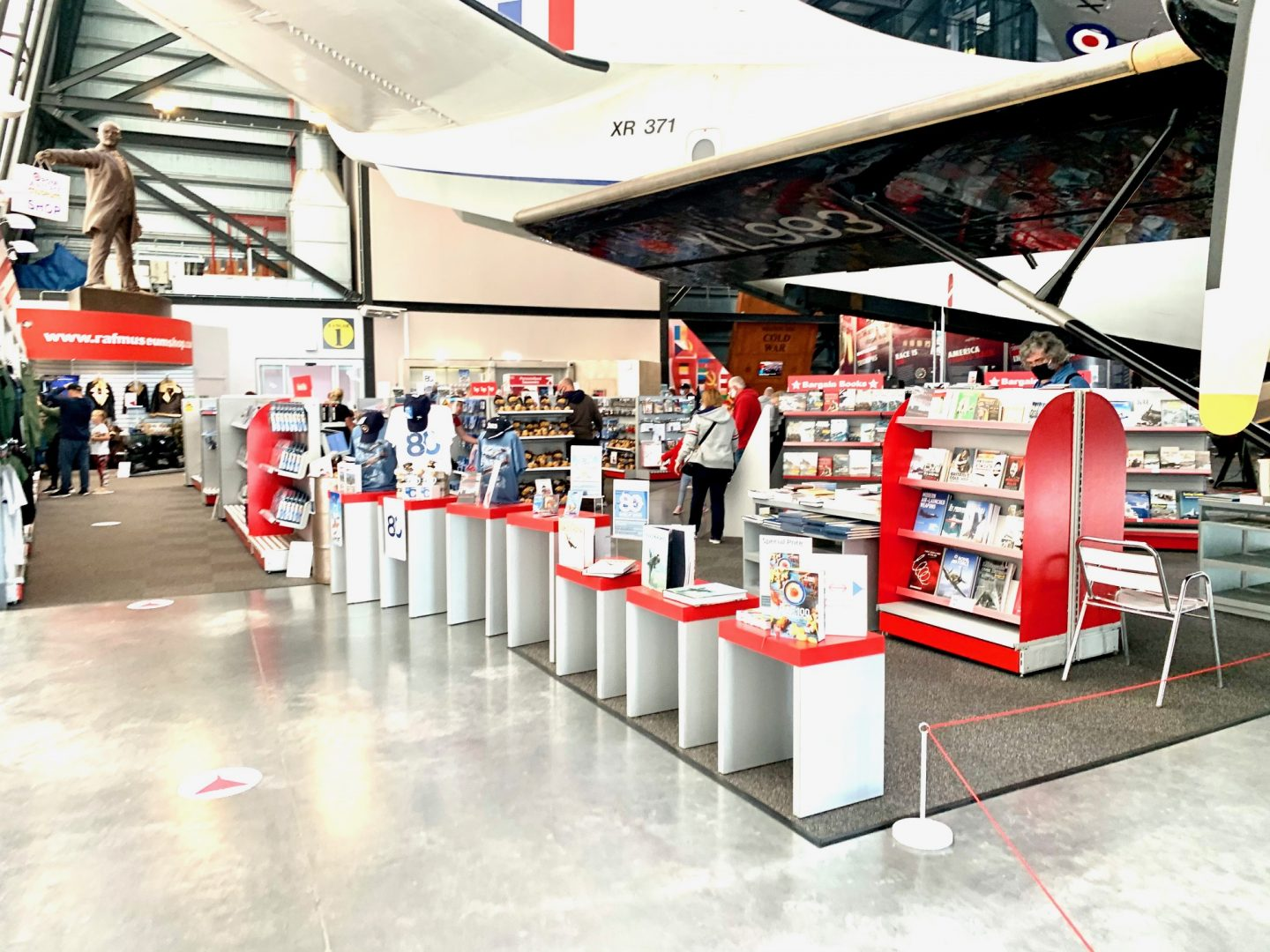 Shop area at Cosford RAF Museum