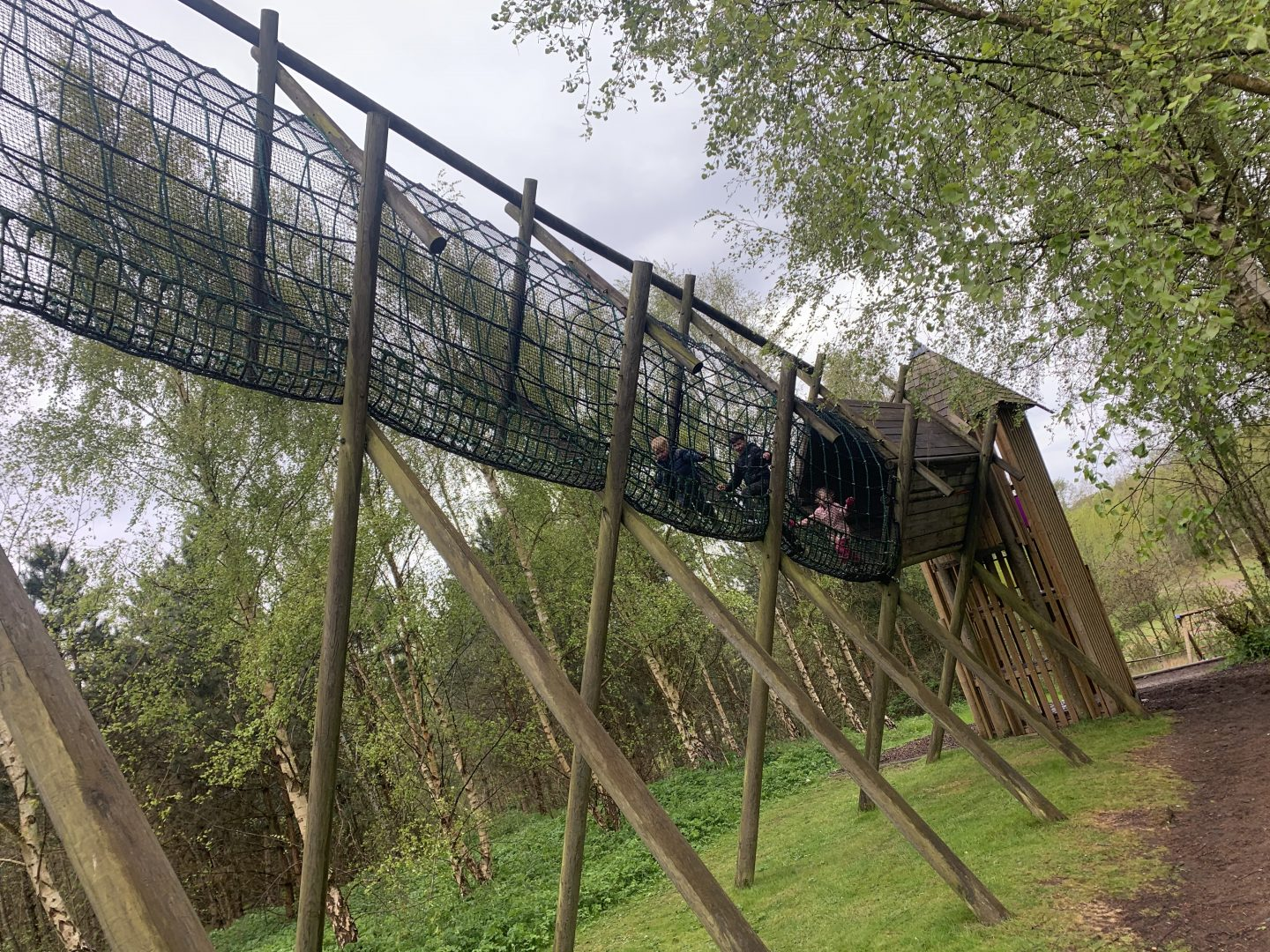 Activity trail at conkers