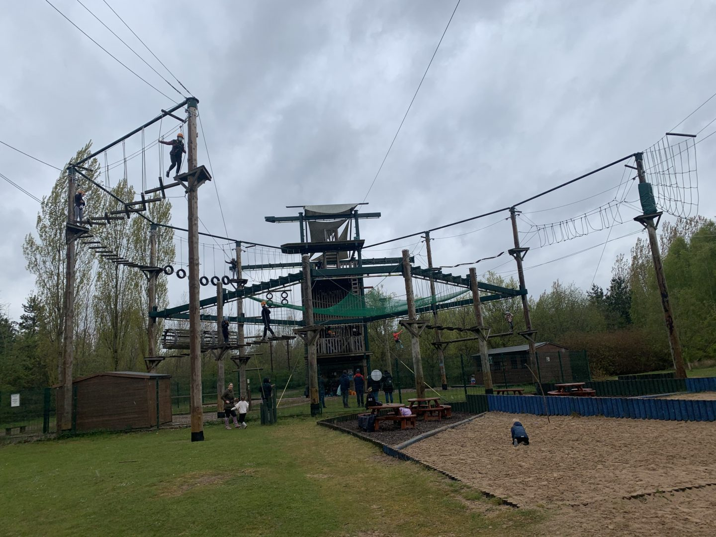 Hi and Lo Ropes at Conkers