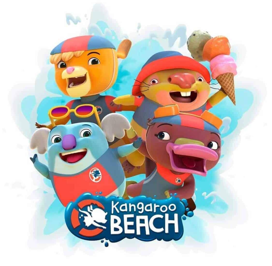 kangaroo beach characters