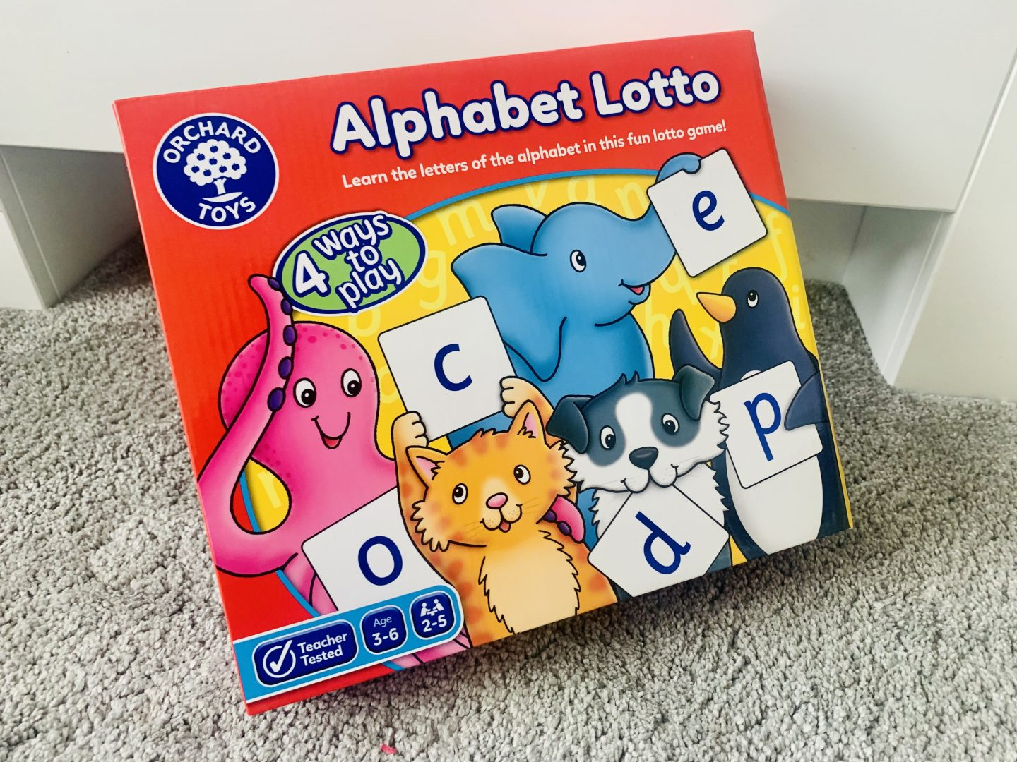Alphebet lotto Orchard toys competition from Office Statinery