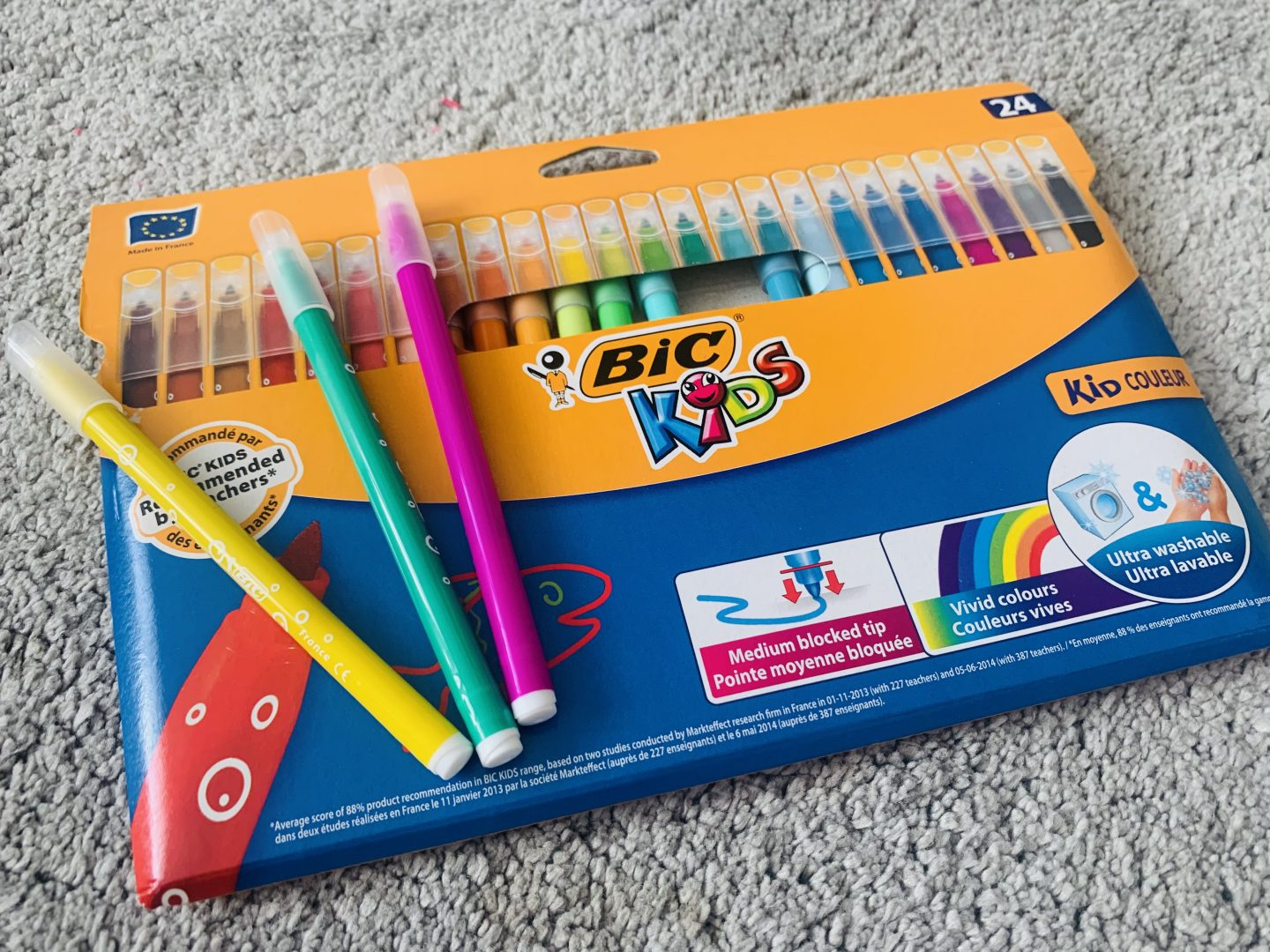 Pack of BIC felt tips from Office Stationery competition
